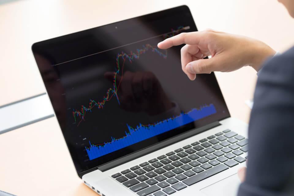 株価の写真