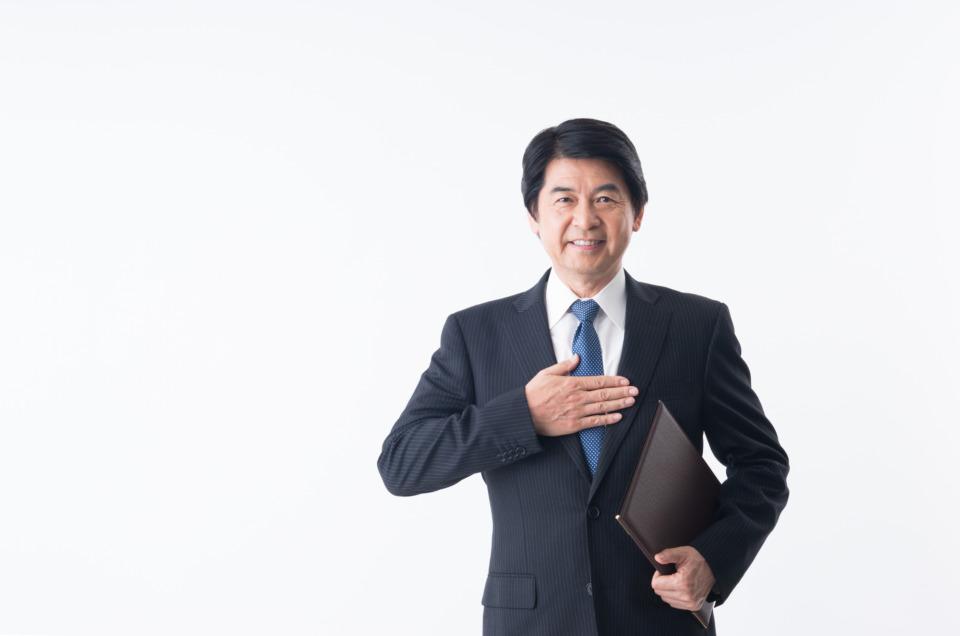 スーツを着た人の写真
